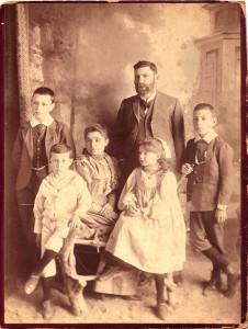 Julius,Fritz,Mathilda,Hermann,Fanny,Max-Wertheim,-Graaff-Reinet,-abt.-1892.1