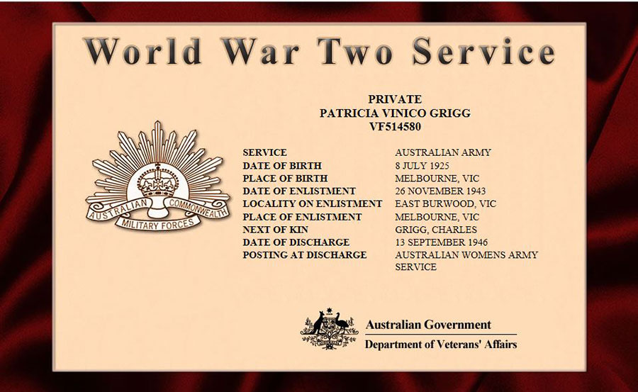 patricia-vinico-grigg-ww2-service-certificate