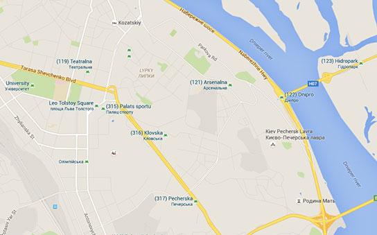 Map-Walk-Kiev